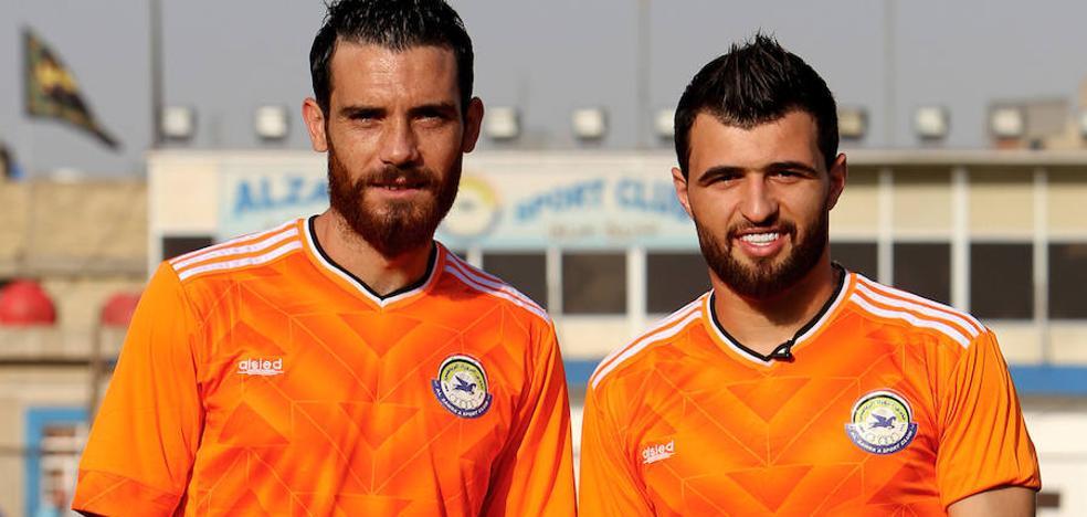 Irak, tierra de asilo para los futbolistas sirios que huyen de la guerra