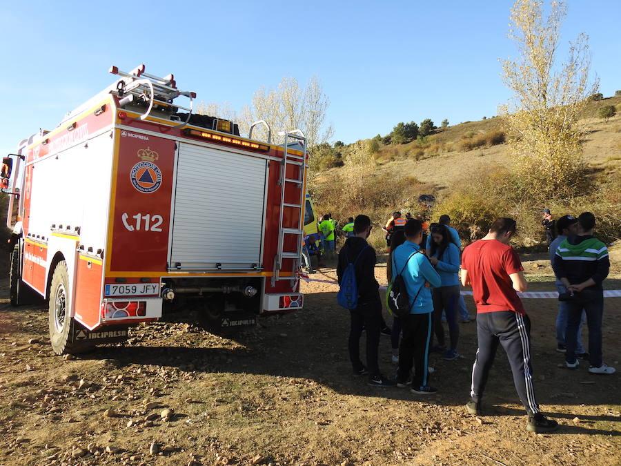Fallece una joven arrollada por un coche en el rally de Sariegos