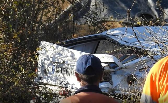 Fallece una joven atropellada por un vehículo que participaba en el rally de Sariegos