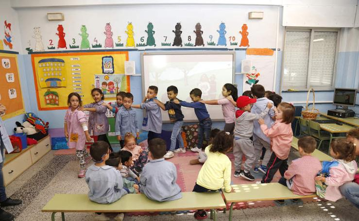 Así es el colegio Pan y Guindas de Palencia