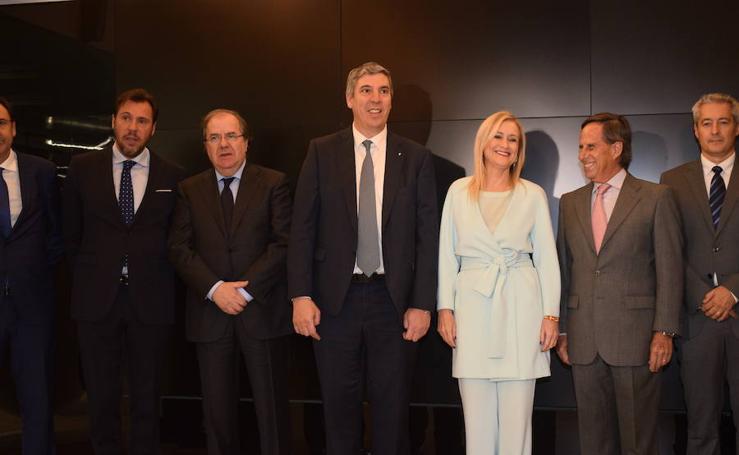 Inauguración de la nueva sede corporativa del grupo Renault en Madrid