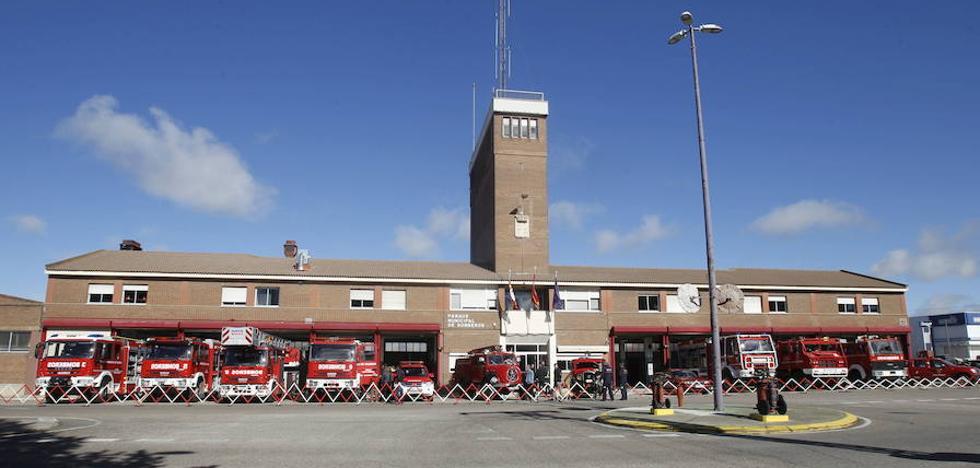 Los bomberos de Palencia, Medalla de Oro de Castilla y León