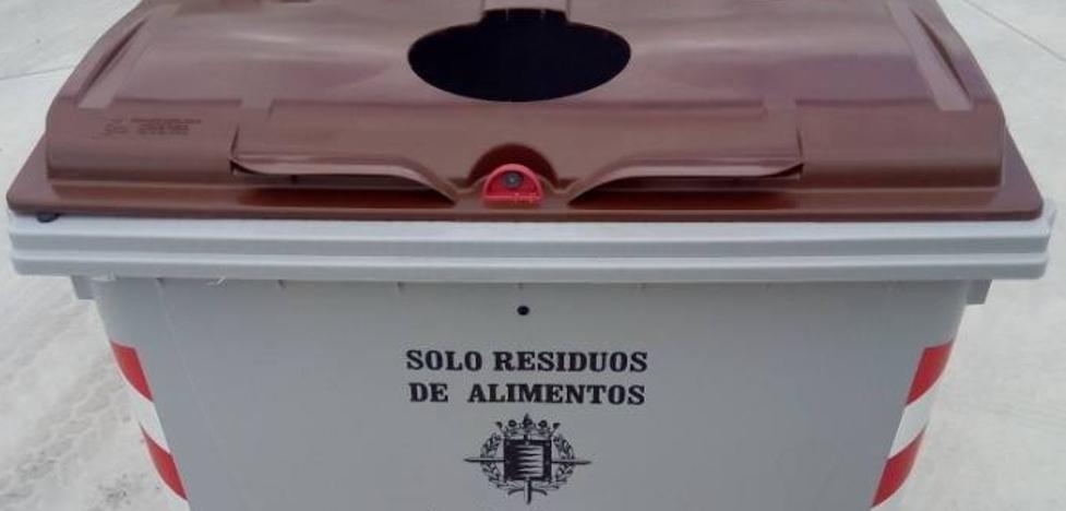 Sustitución de los contenedores de materia orgánica en Delicias