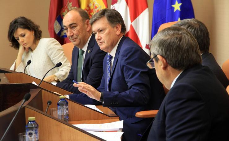 Pleno en la Diputación de Segovia