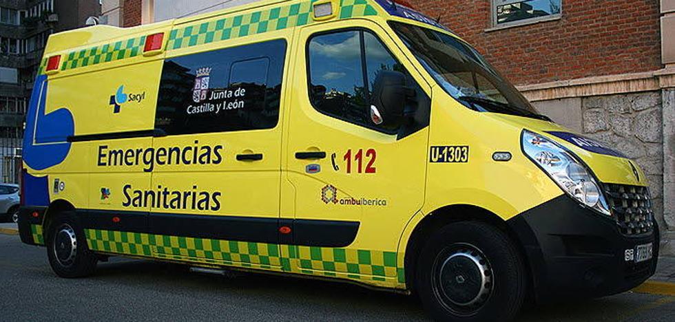 Un hombre de 36 años muerto y otros dos heridos en una colisión en Otero de Herreros