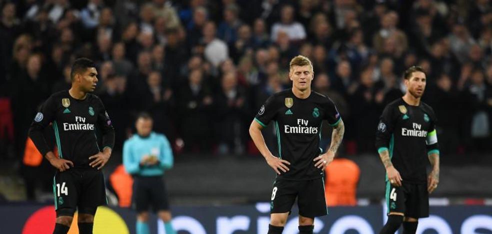 El Madrid naufraga en Wembley