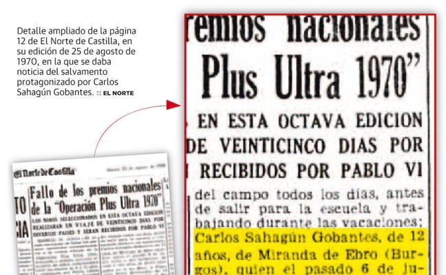 El atracador suicida de Cangas de Onís salvó a dos hermanos de ahogarse en 1970 en Miranda