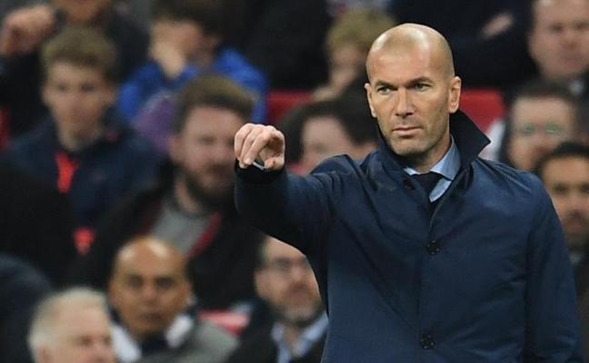 Zidane: «Es una derrota dura y al mismo tiempo, merecida, hay que aceptarlo»