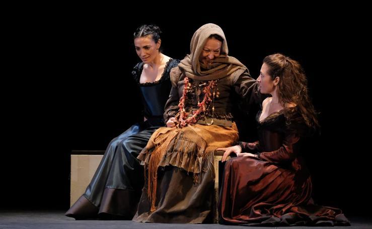 Ensayo de 'El caballero de Olmedo' en el Teatro Calderón de Valladolid