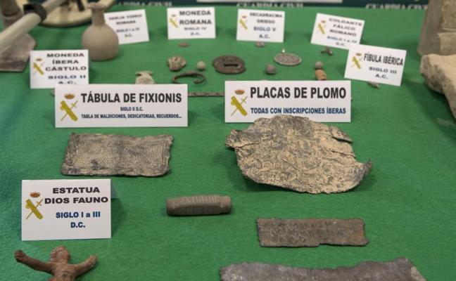 Golpe al expolio arqueológico en Jaén