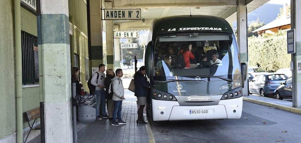 La Sepulvedana reforzará la línea de las 6:30 horas de Segovia a Madrid