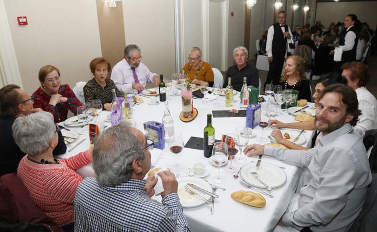 Cena anual benéfica de la Asociación Contra el Cáncer de Palencia