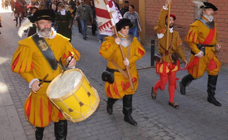 Medina recuerda la llegada de Carlos V en 1556