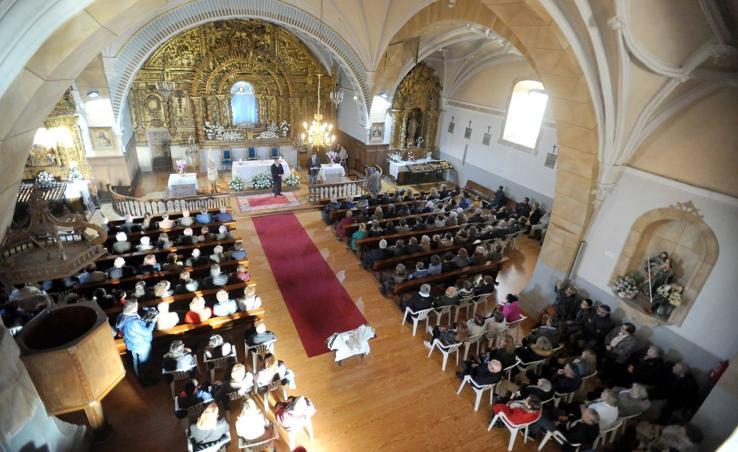 Reapertura de la ermita de Nuestra Señora de la Concepción en Nava del Rey tras su restauración