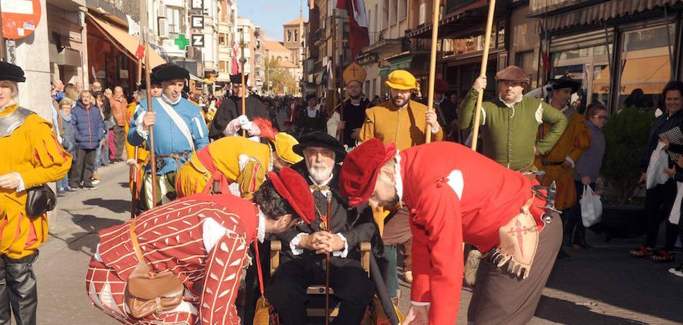Medina conmemoró la llegada de Carlos V a la localidad