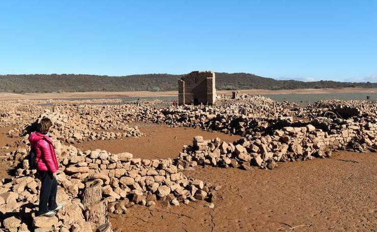 La dramática situación de los embalses del norte de Palencia