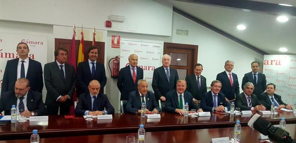 Javier Vega, nuevo vicepresidente del Consejo Regional de Cámaras