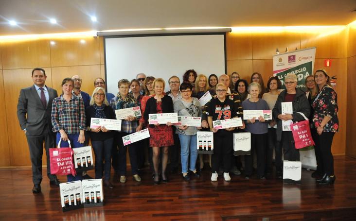 Entrega de premios de la campaña 'El Comercio da vida a tu Ciudad'