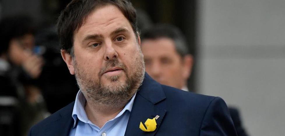 Carta de Junqueras desde prisión: «Parece que la violencia en nombre del '¡Viva España!' no es violencia»