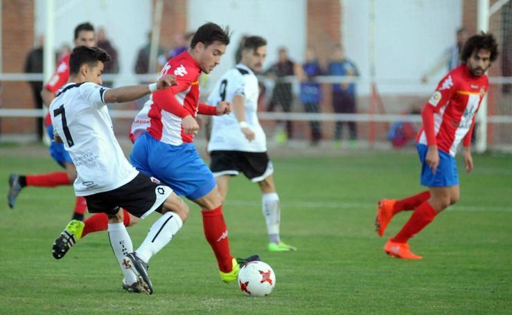 Partido entre el Atlético Tordesillas y el Salmantino (1-2)
