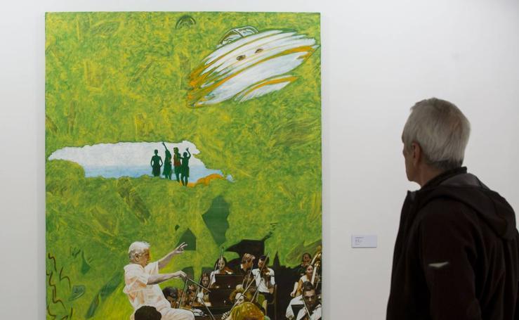 Exposición de Javier Bustelo en el Museo Patio Herreriano de Valladolid