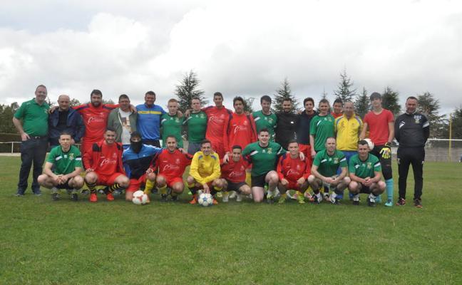 El Sporting Riazano más internacional