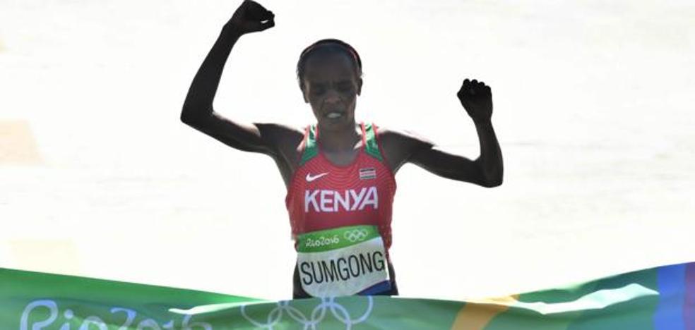 La campeona olímpica de maratón, castigada cuatro años por dopaje