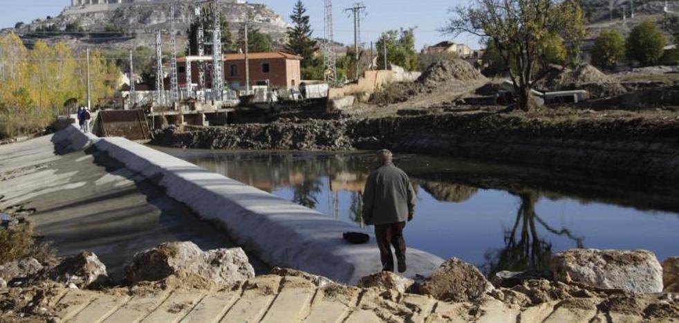 La Comunidad de Regantes de Valdemudarra invierte 100.000 euros para reparar un azud