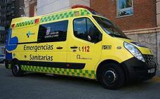 Fallece un hombre de 57 años tras volcar un camión en La Losa