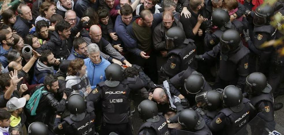 Estrasburgo recibe 4 demandas contra España sobre Cataluña