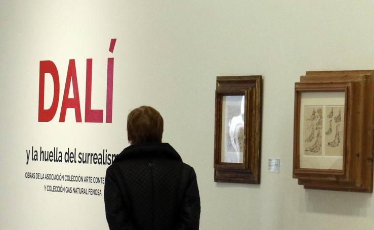 La huella del surrealismo de Dalí y la escultura de Oteiza, en el Patio Herreriano