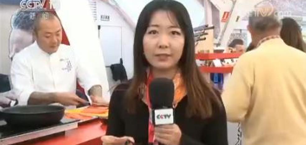 El Concurso Nacional de Pinchos de Valladolid llega a la televisión china
