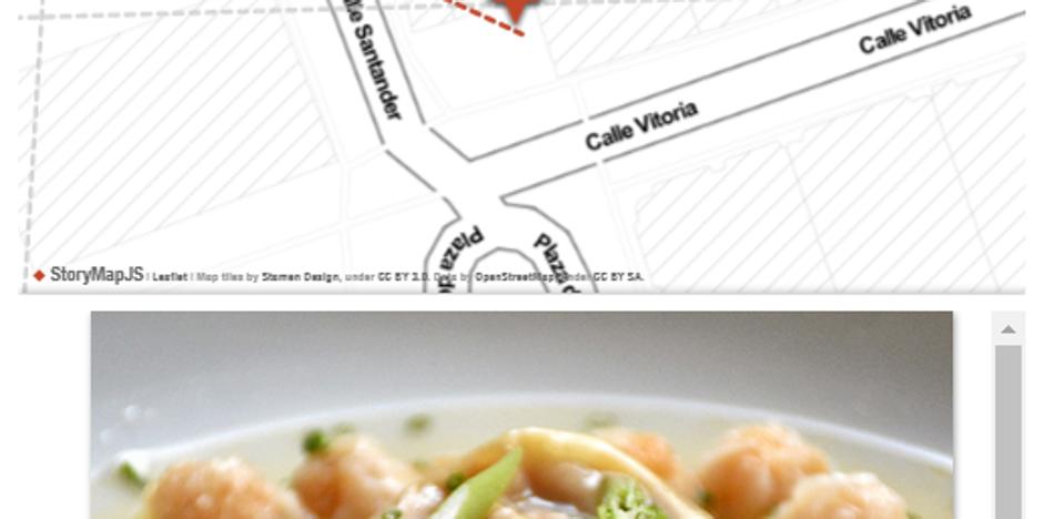 Mapa interactivo del Tour Gastronómico 'Burgos entre Cucharas'