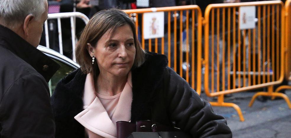 Forcadell sale de la prisión tras pagar su fianza de 150.000 euros