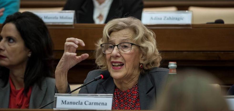 Carmena dice que Montoro «está aplicando mal» la ley al tutelar las cuentas