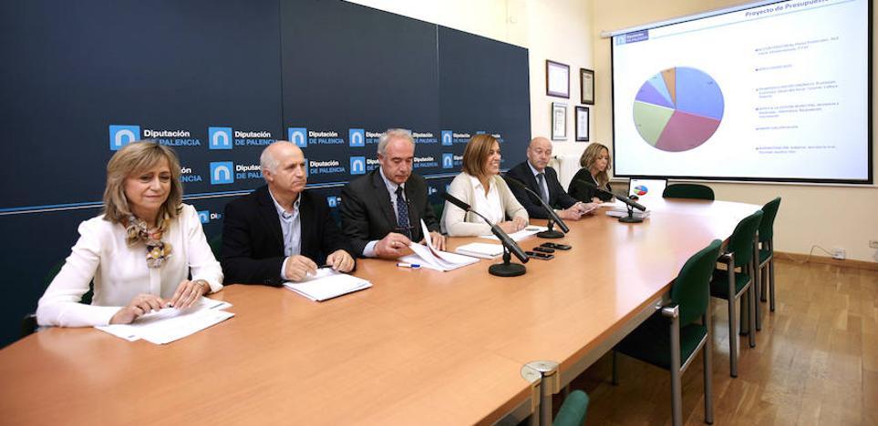 El PP presenta en la Diputación un presupuesto para 2018 de 66,4 millones