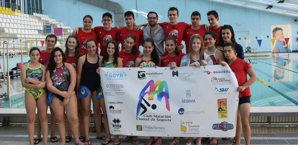 El club de natación IMD Ciudad de Segovia comienza la temporada