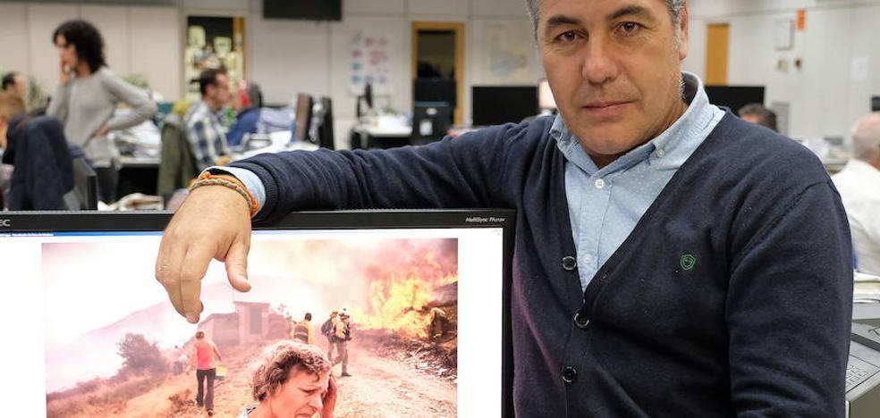 El fotógrafo de El Norte Gabriel Villamil recibe un premio de diseño ÑH