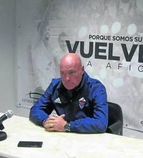 Calderé: «Alguno de los que aún no ha sido titular conmigo lo va a ser este domingo»