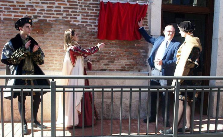 Mojados estrena su aula museo dedicada a Carlos V