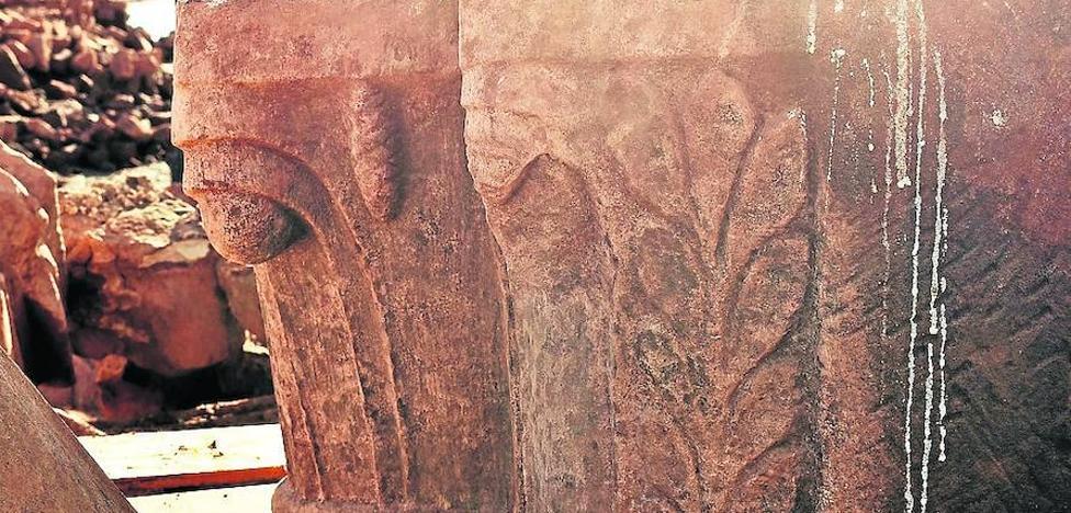 Los capiteles de Cenera se quedarán finalmente en Aguilar de Campoo
