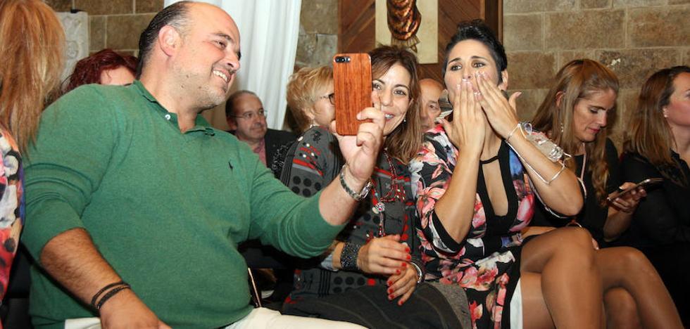 Rosa López, en Cuéllar: «Sé que Bustamante está muy bien»