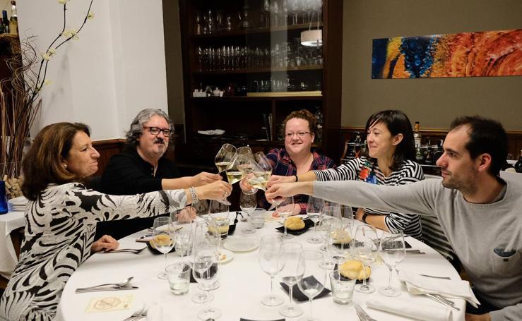 Catas en los restaurantes Maribel y Maracaibo del Otoño Enológico de Caja Rural
