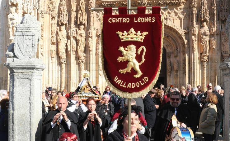 Procesión de la Virgen del Camino, en Valladolid