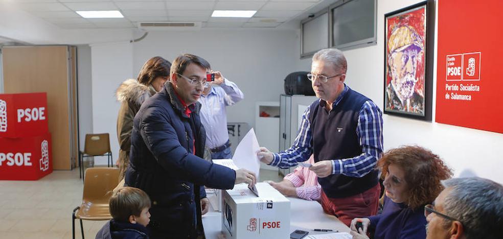 Los candidatos a liderar el PSOE de Salamanca se emplazan a «trabajar juntos sea cual sea el resultado»