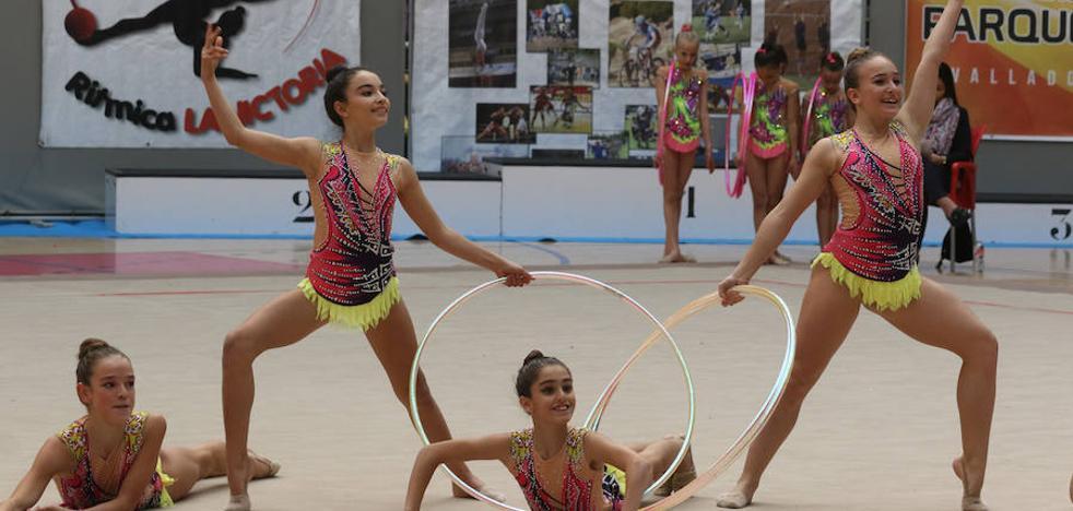 Pisuerga acoge el Torneo Ciudad de Valladolid de gimnasia rítmica