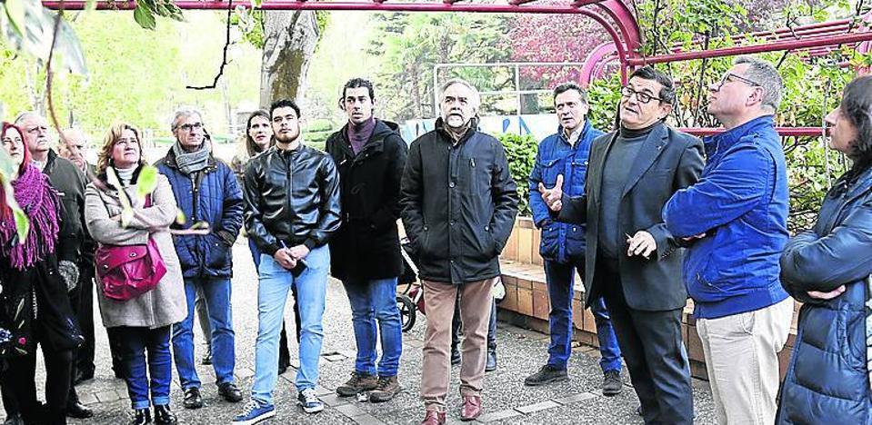 El Colegio de Arquitectos organiza una visita botánica a Los Jardinillos