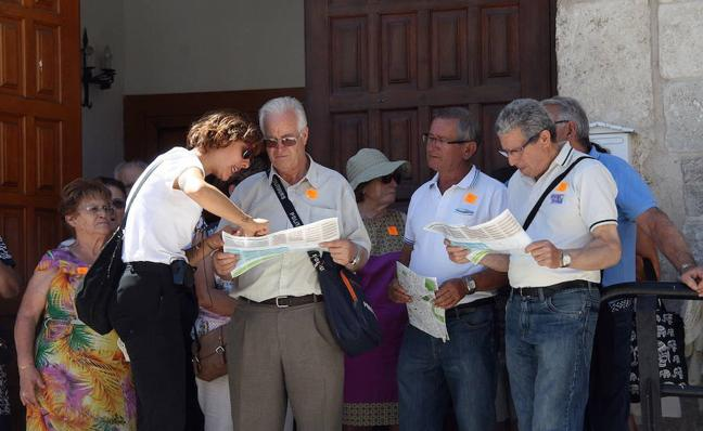 Cuéllar cede a Aguilar de Campoo el testigo de Las Edades del Hombre