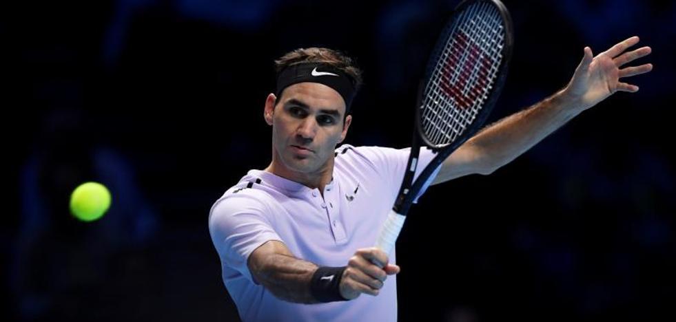 Federer noquea a Sock para abrir las Finales ATP