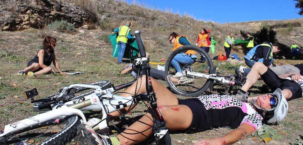 Sesenta heridos al año en Segovia entre pruebas de 'mountain bike' y maratones